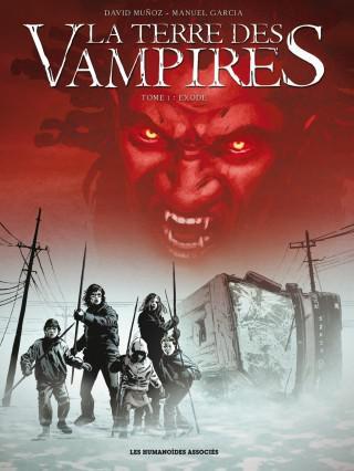 BD numérique La Terre des Vampires Tome 1 gratuite pendant 1 semaine