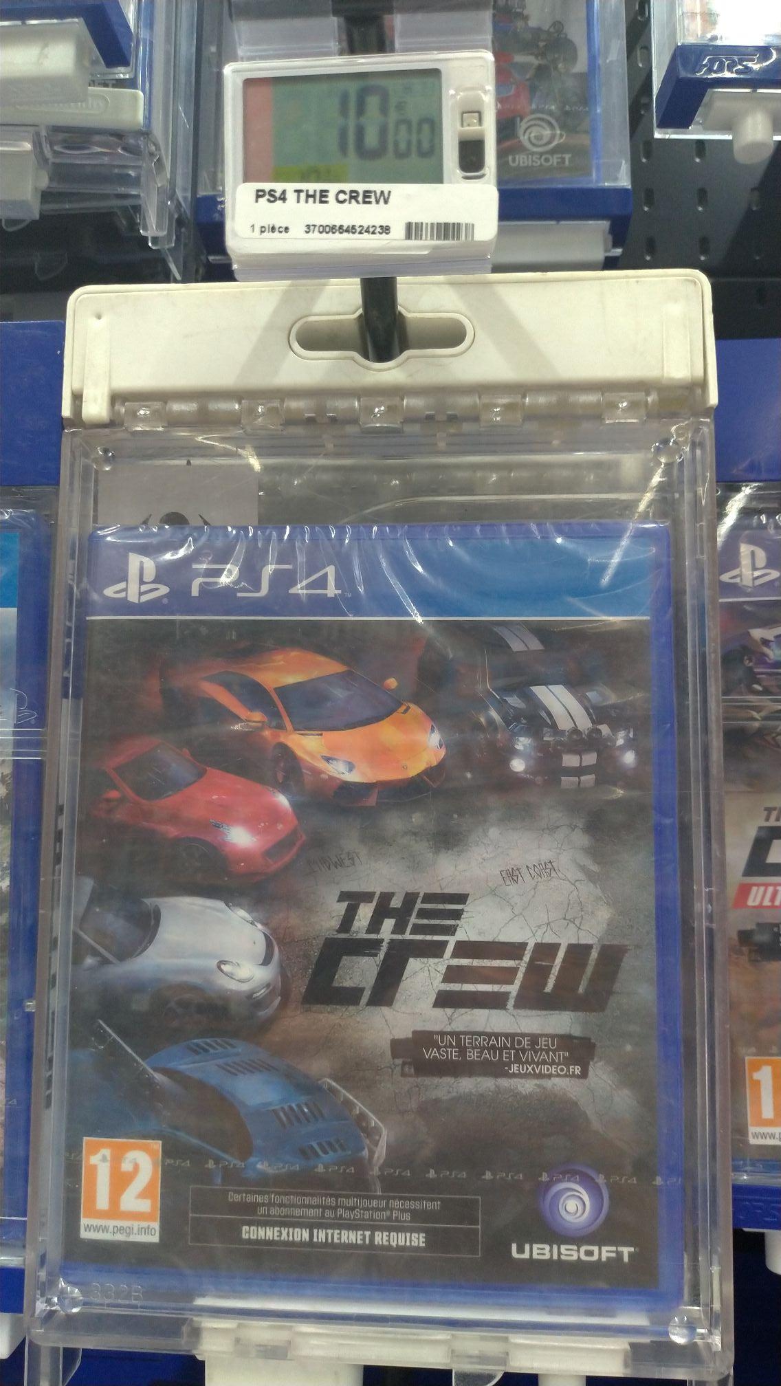 Sélection de jeux PS4 en promotion - Ex : The Crew - Mably (42)