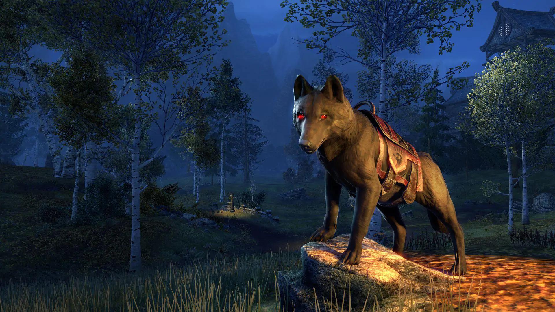 Monture  Loup de ruine gratuite sur The Elder Scrolls Online (Dématérialisé)