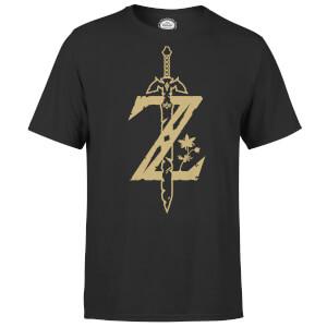 Sélection T-shirt en promotion - Ex: T-Shirt Homme Master Sword Zelda Nintendo - Noir