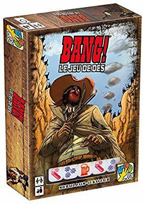 Jeu de société Asmodée BAN07FR  - jeu de dés Bang