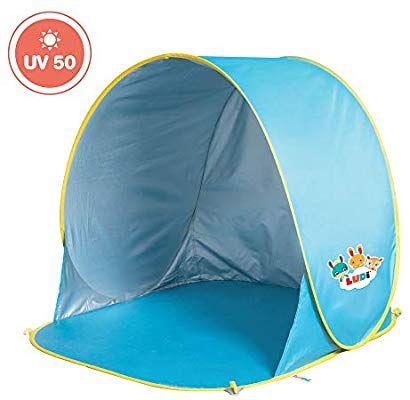 Tente de plage avec Protection UV 50 Ludi
