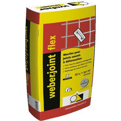 Mortier Joint en Poudre Weber Col Flex pour Carrelages