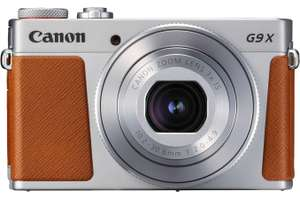Appareil photo Canon POwershot G9X Mark II argent + Etui + Carte SD 16 GO