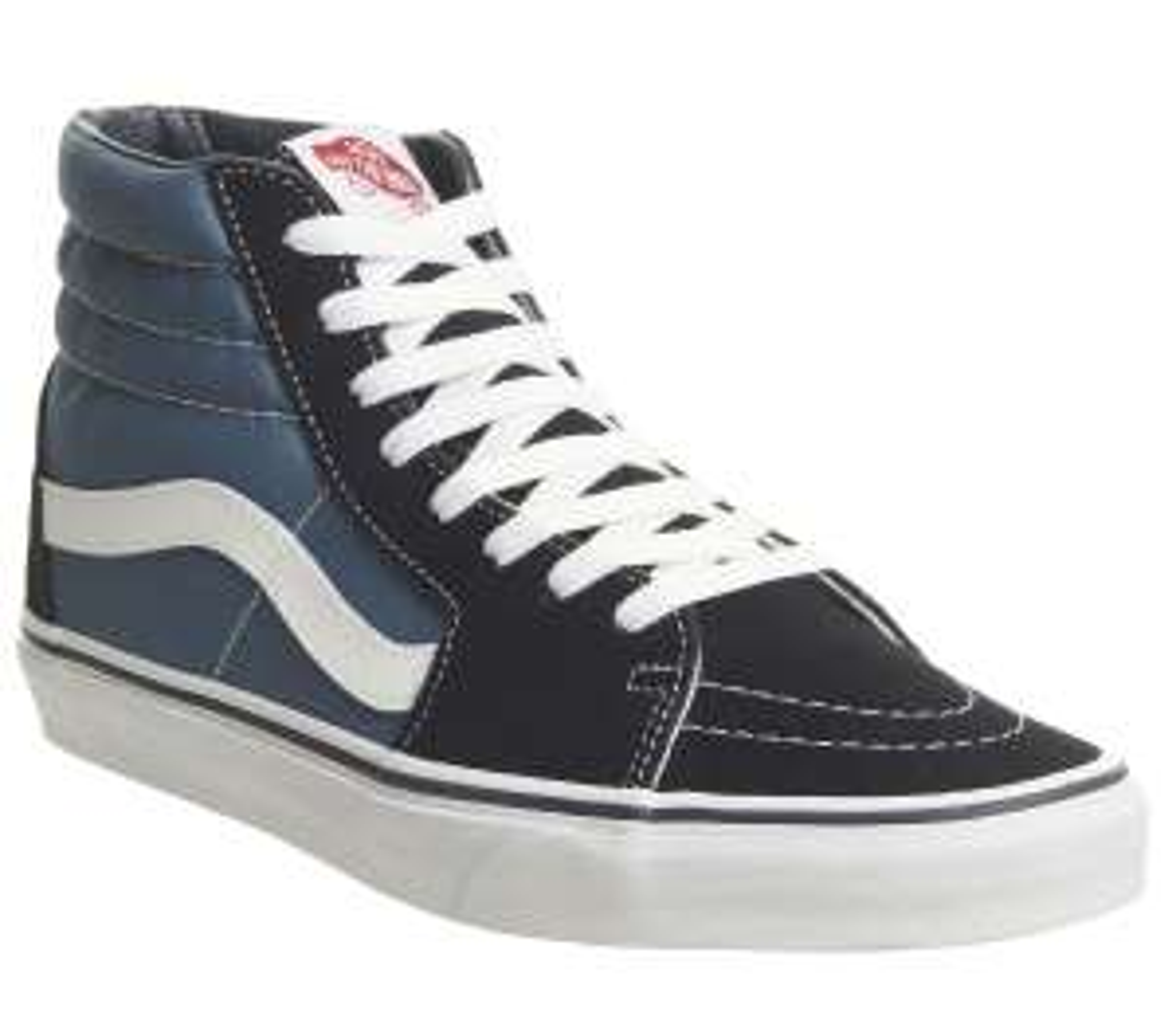 Chaussures montantes unisexe Vans Sk8 Hi Navy - Tailles 37 au 44.5