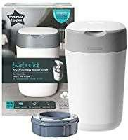 Poubelle à couches Tommee Tippee Twist&click Sangenic - Blanche