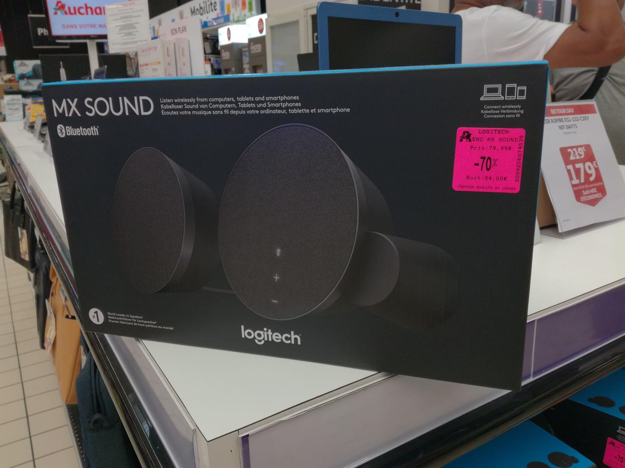 Paire d'enceintes Logitech MX Sound - Auchan le Pontet (84)