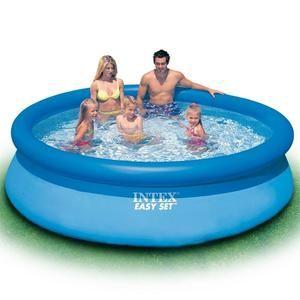Kit piscine autoportante Intex Easy Set - 3,05 m x 76 cm + 3 Cartouches H 28122XA - Bleu