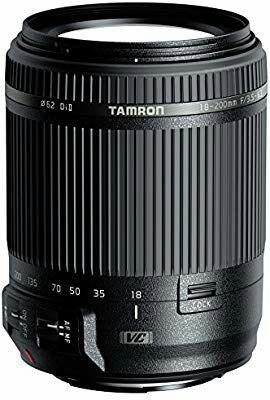 Objectif Tamron 18-200mm F/3.5-6.3 Di II VC Noir - Monture Canon