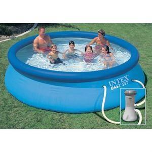 Kit piscine ronde Intex Easy Set - Ø365 x 76 cm