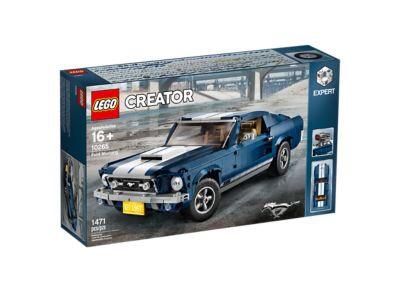 Jeu de construction Lego Creator (10265) - Ford Mustang 1960s (Frontaliers Belgique)
