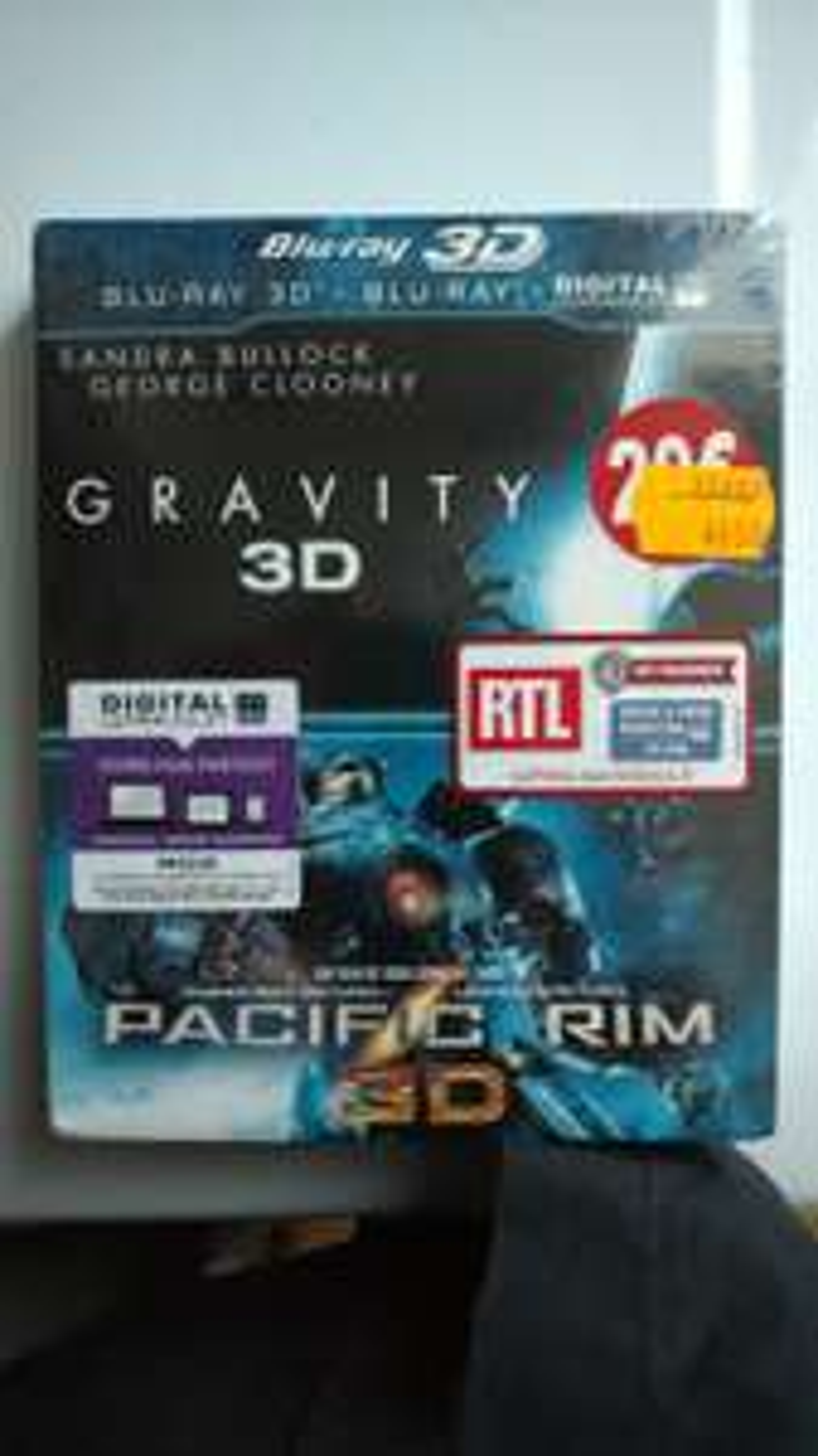 Sélection de Blu-ray en promotion - Ex : Coffret 2 Blu-ray 3D Gravity à 4€ (Carrefour Saint-André-les-Vergers 10)