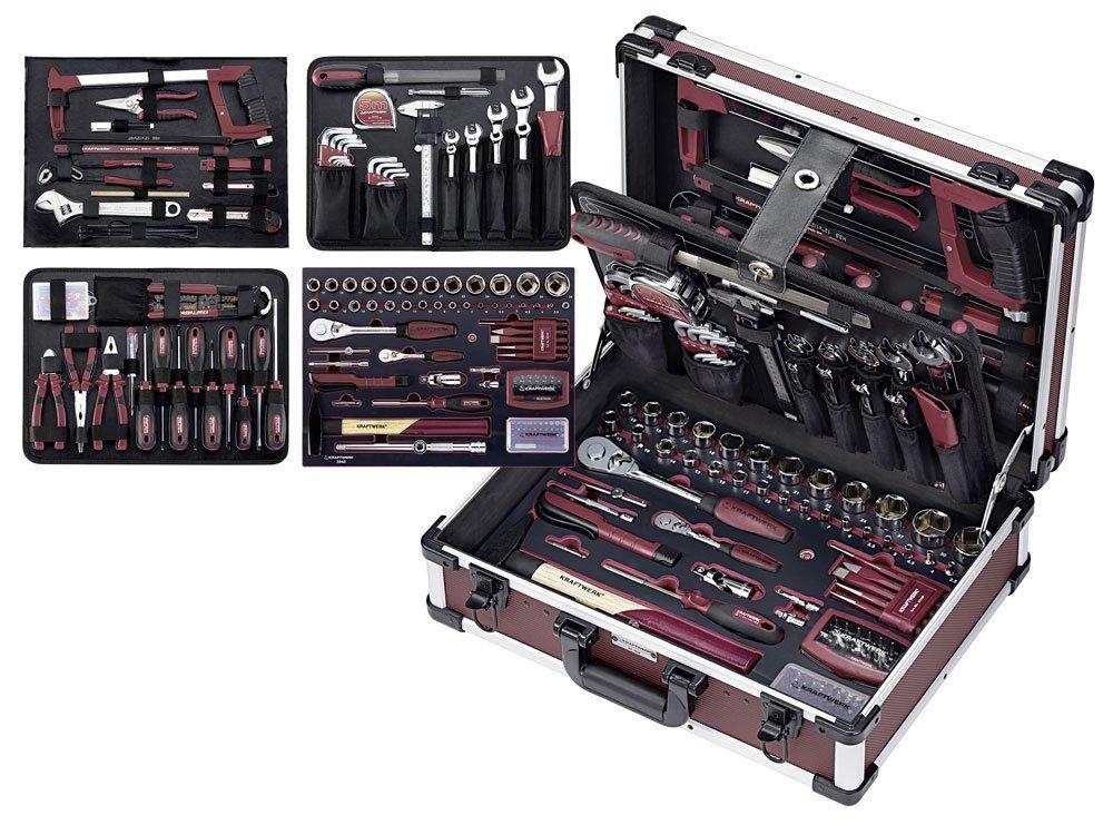 Coffret 263 outils professionnels Kraftwerk - 489 x 365 x 178 mm (planet-tools.fr)