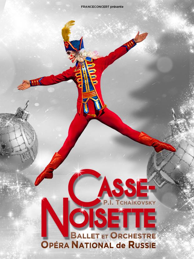 Place pour le ballet et l'Orchestre de l'Opéra National de Russie - Casse-Noisette