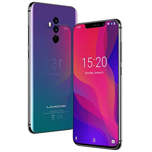 """Smartphone 6.2"""" Umidigi Z2 Pro - Full HD, Hélio P60 , RAM 6 Go, ROM 128 Go, 4G avec B20, Twilight (Vendeur tiers - Expédié par Amazon)"""