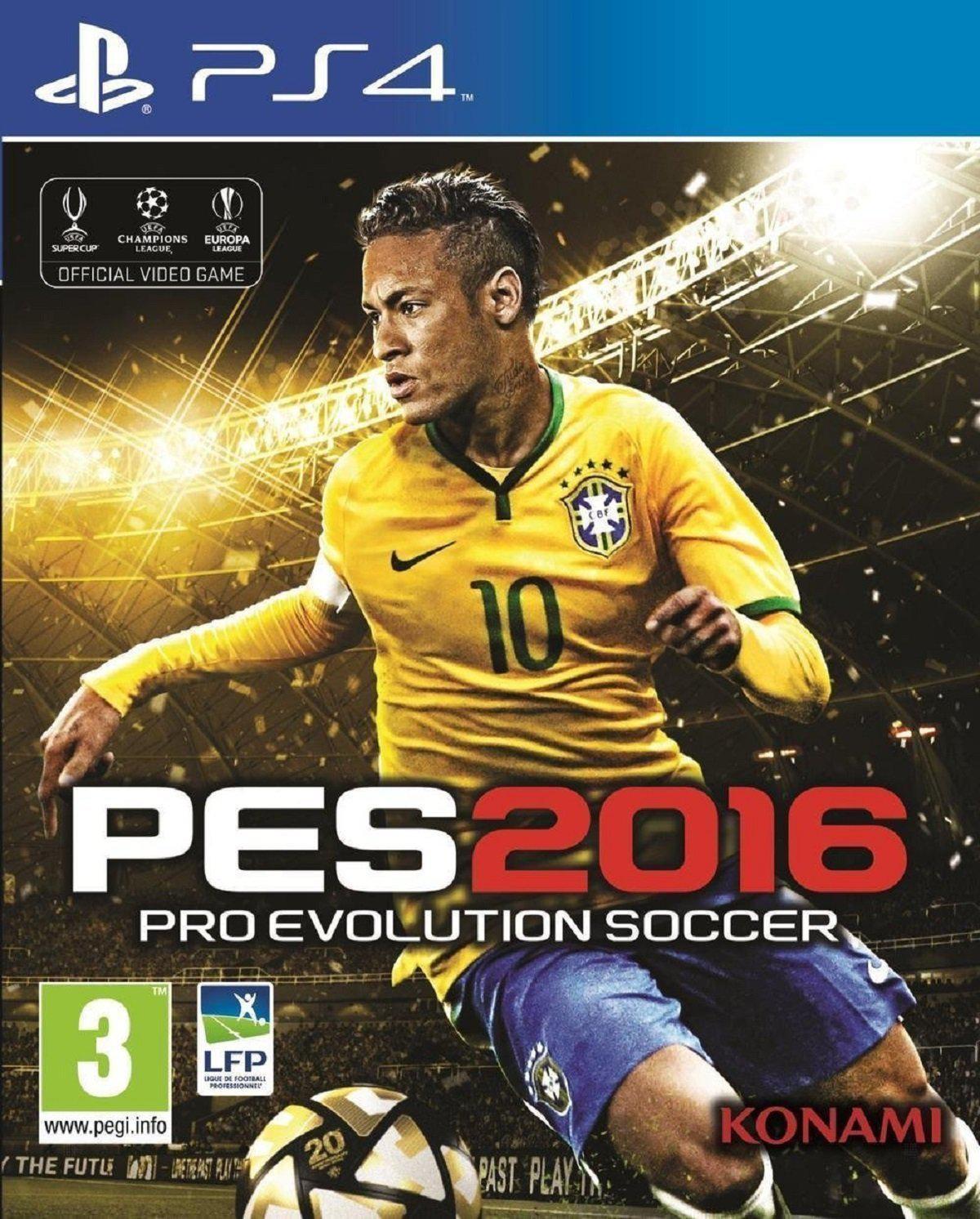 Jeu PES 2016 : Pro Evolution Soccer sur PS4