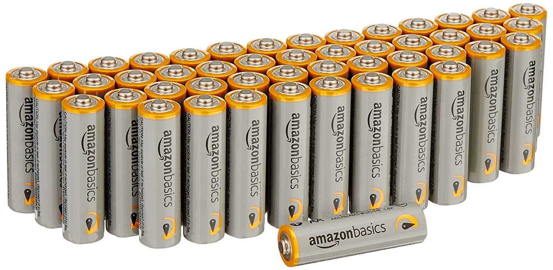 [Prime] Lot de 48 piles alcalines AmazonBasics type AA