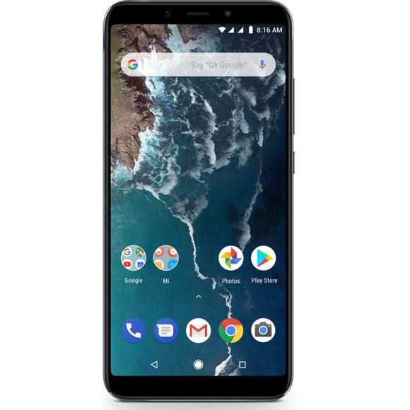 "Smartphone 5,99"" Xiaomi Mi A2 - Snapdragon 660, 4Go RAM, 64Go ROM, Noir (Vendeur Tiers)"