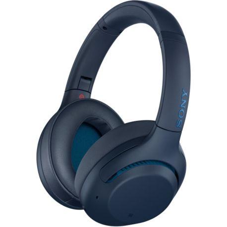 [Adhérents Macif]  Casque Sans-fil Sony WH-XB900 Bleu avec Réduction de Bruit Active - Bluetooth