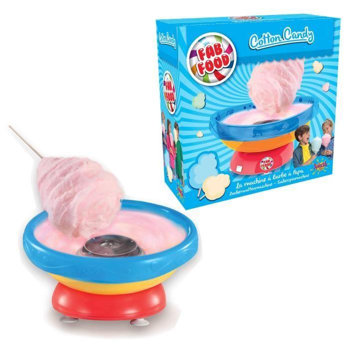Machine à Barbe à Papa Splash Toys Fab Food Cotton Candy Maker