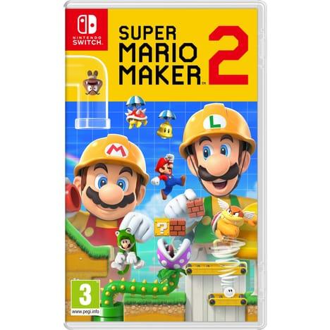 Super Mario Maker 2 (en échange d'un jeu parmi une sélection)