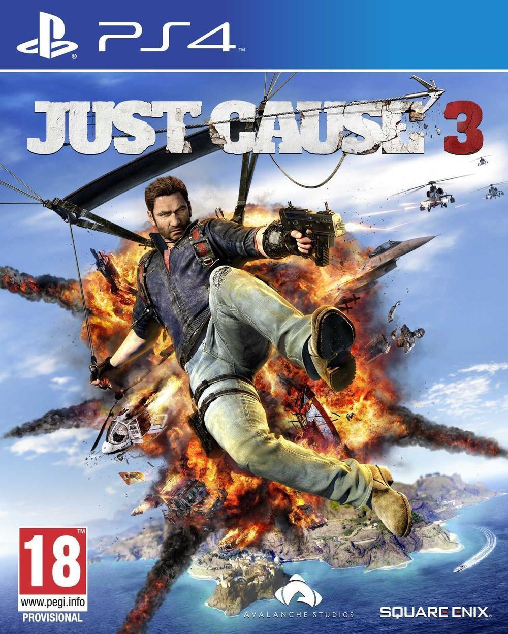 Précommande : Jeu Just Cause 3 sur PS4 et Xbox One
