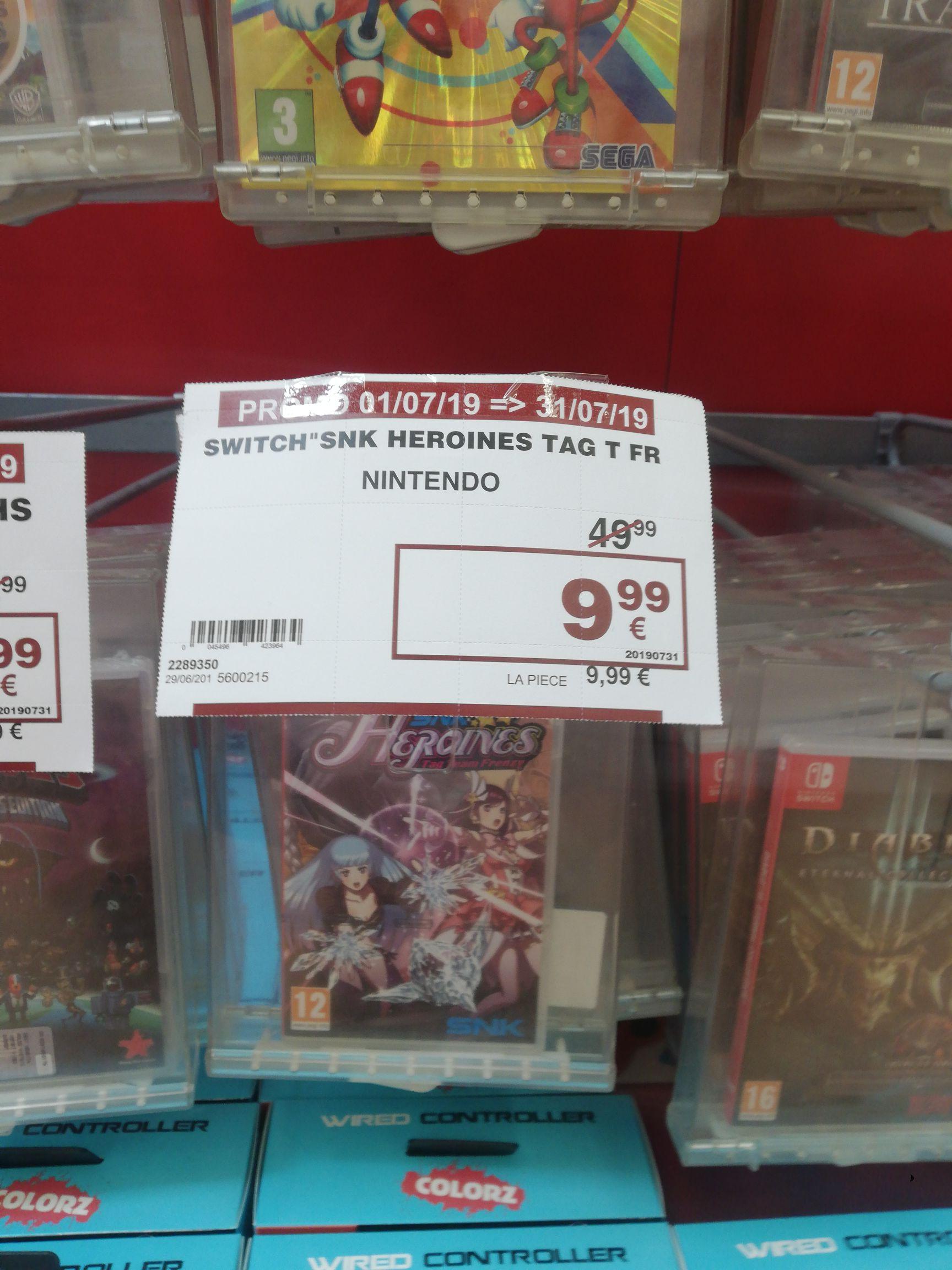 SNK Heroines: Tag Team Frenzy sur Nintendo Switch - Louvière (Frontaliers Belgique)