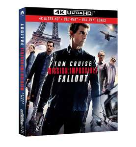 Blu-Ray 4K Mission impossible Fallout