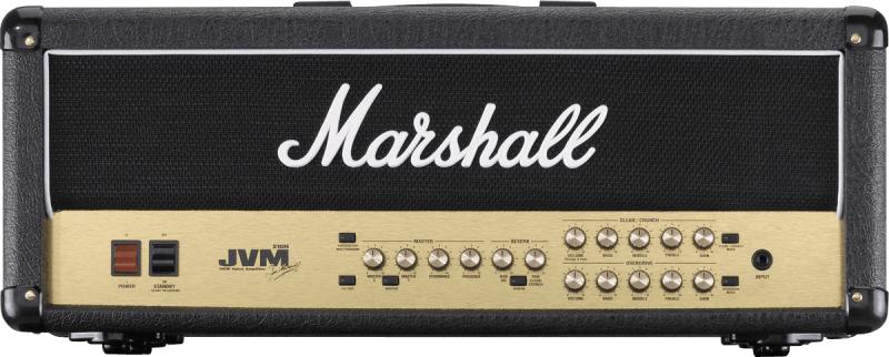 Tête d'Ampli pour guitare électrique Marshall JVM210H (algam-webstore.fr)