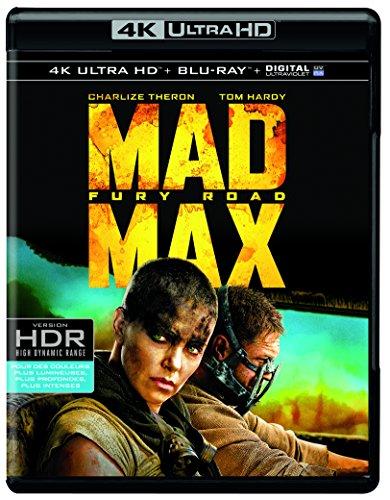 blu-Ray 4K Mad Max Fury Road
