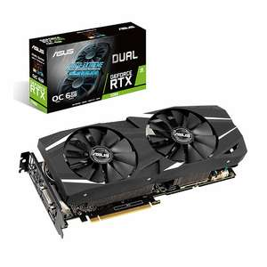 Carte graphique Asus GeForce RTX 2060 Dual OC + Wolfenstein Youngblood + 25€ de coupon Gamesplanet