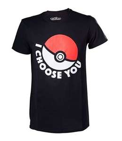 """T-Shirt Pokémon """"I Choose You"""" - Tailles S au XL"""