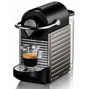 Machine à café Krups YY1201 Nespresso Pixie + Bavoir Arlequin + 2 bons d'achat de 50€ (via ODR de 40€)