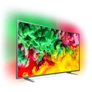 """TV 65"""" Philips 65PUS6703 - LED, 4K UHD, HDR 10, Ambilight 3 côtés, Smart TV, 1100 Hz PPI"""
