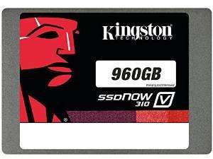 "SSD Interne 2,5"" Kingston SSDNow V310 Disque Flash -  960 Go"