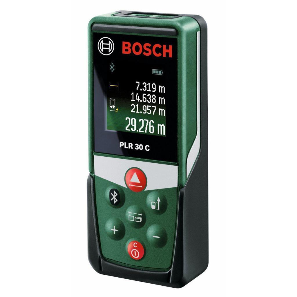Télémètre Laser Connecté Bosch PLR 30 Connexion Bluetooth, Portée 30 m