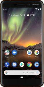 "Smartphone 5,5"" Nokia 6.1 - Full HD, S630, 3/32Go, Android One, Blanc"