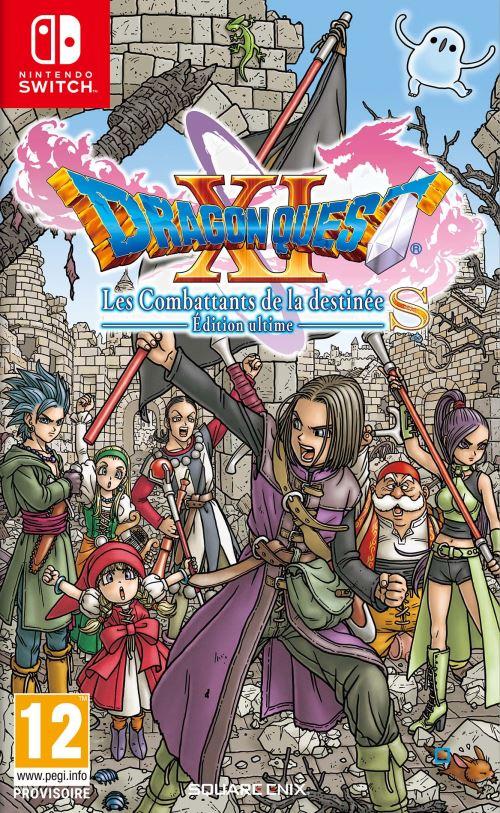 [Précommande / Adhérents] Dragon Quest XI : Combattant Destinée sur Nintendo Switch (+10€ sur le compte fidélité)