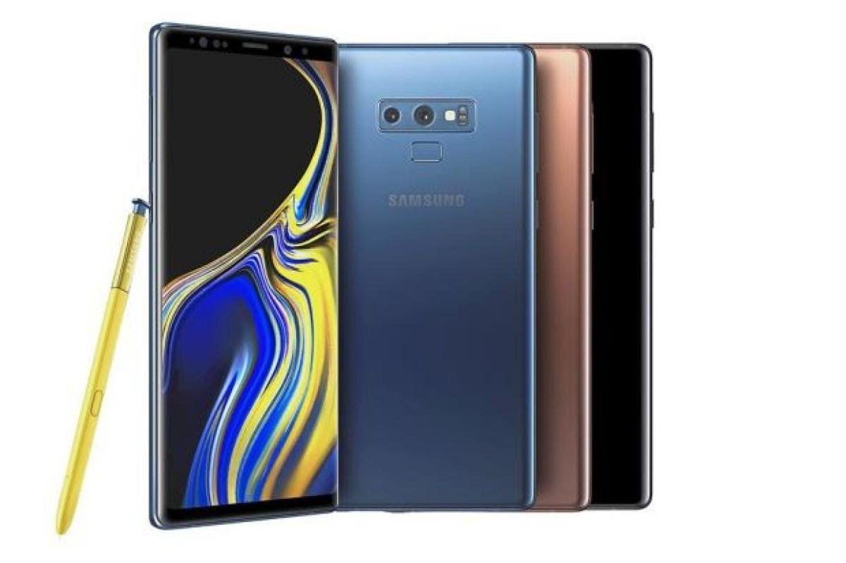 "Smartphone 6.4"" Samsung Galaxy Note 9 - 128 Go, couleur au choix"