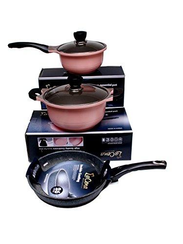 Sélection d'ustensiles en promotion - Ex: Cocotte plat + Sauce Pot + Poêle lacena 657968752740