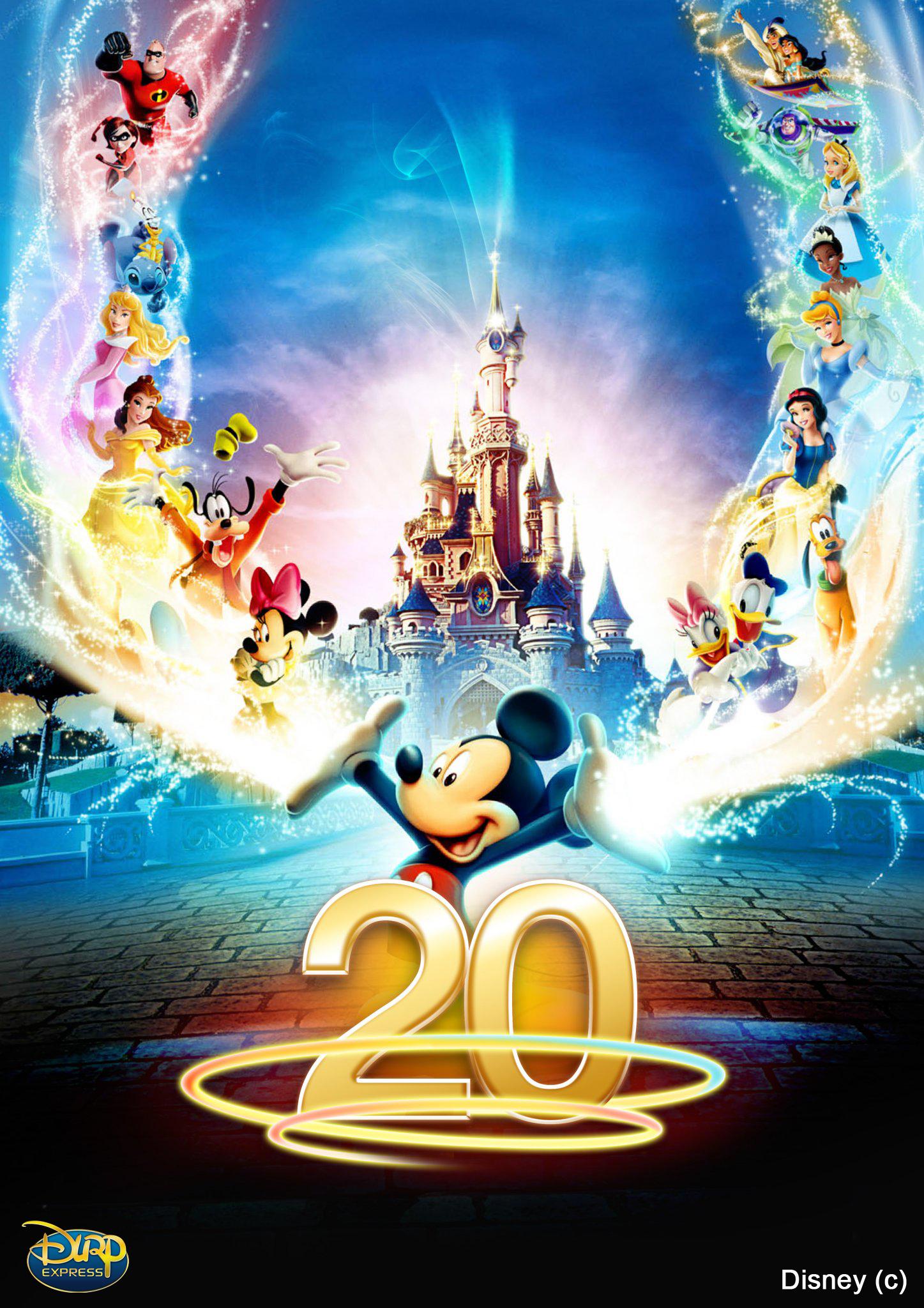 2 billets (Adulte & enfant) 1 jour 1 parc Disneyland Paris