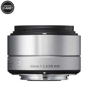 Objectif Sigma 30mm f/2.8 DN Art - Monture Micro 4/3, Argent