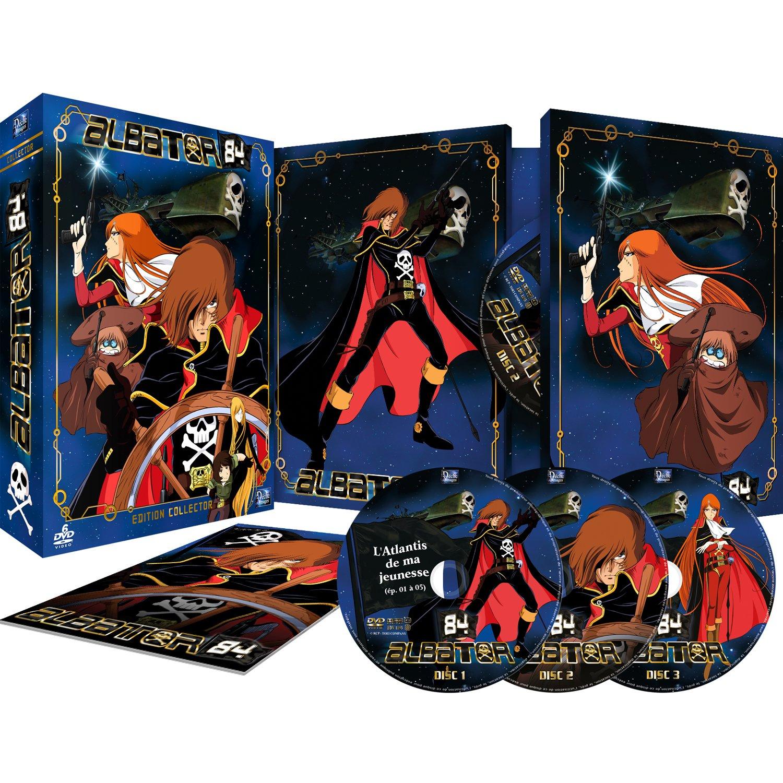 Coffret DVD Collector Albator 84 - Intégrale TV + Film + Livret