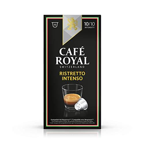 [Via abonnement] Lot de 5 paquets de 10 capsules de Café Royal - 5x10, différents types