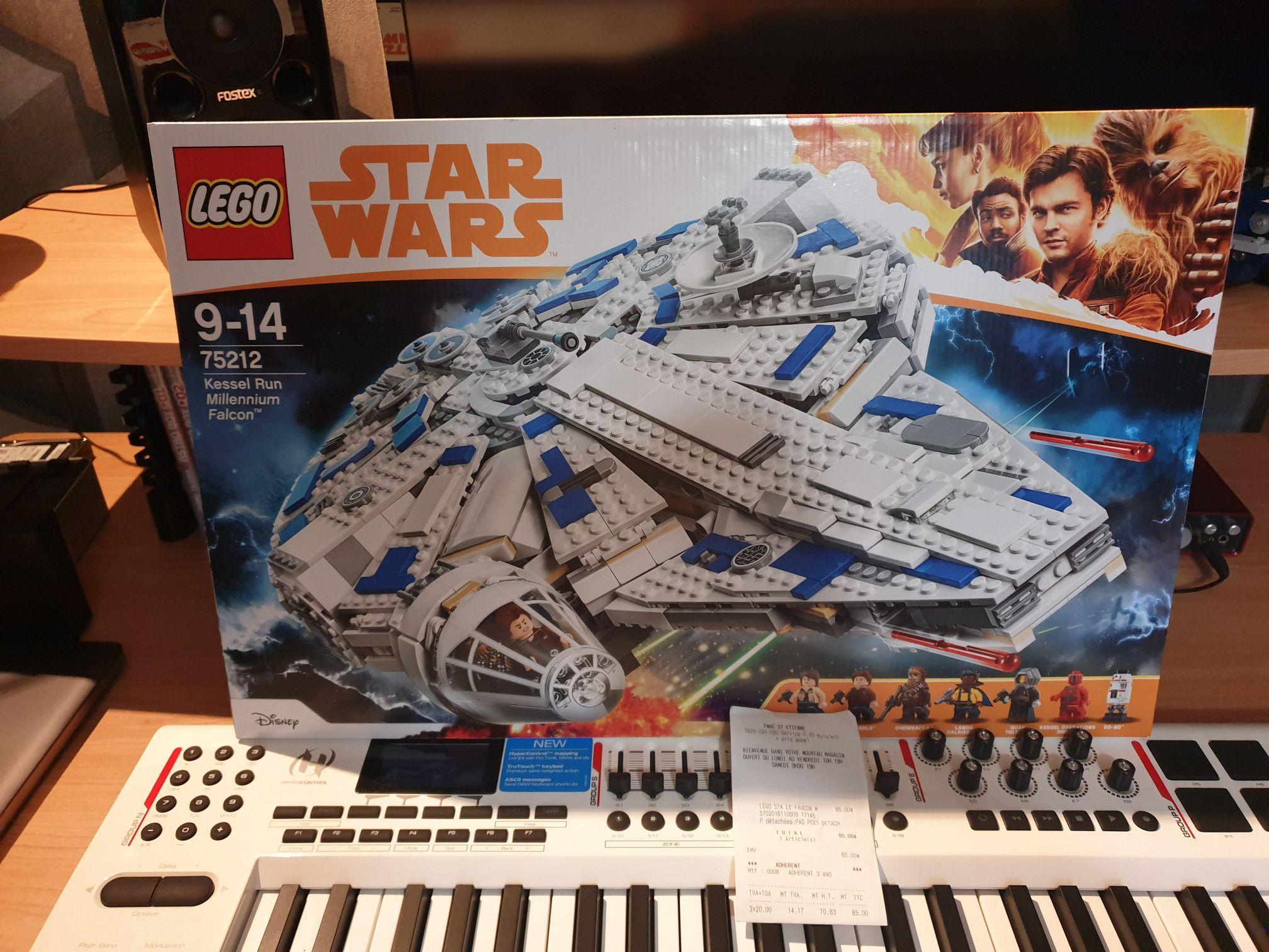 Sélection de Lego en promotion - Ex: Lego Star Wars 75212 - Le Faucon Millenium du raid de Kessel - Saint Etienne (42)