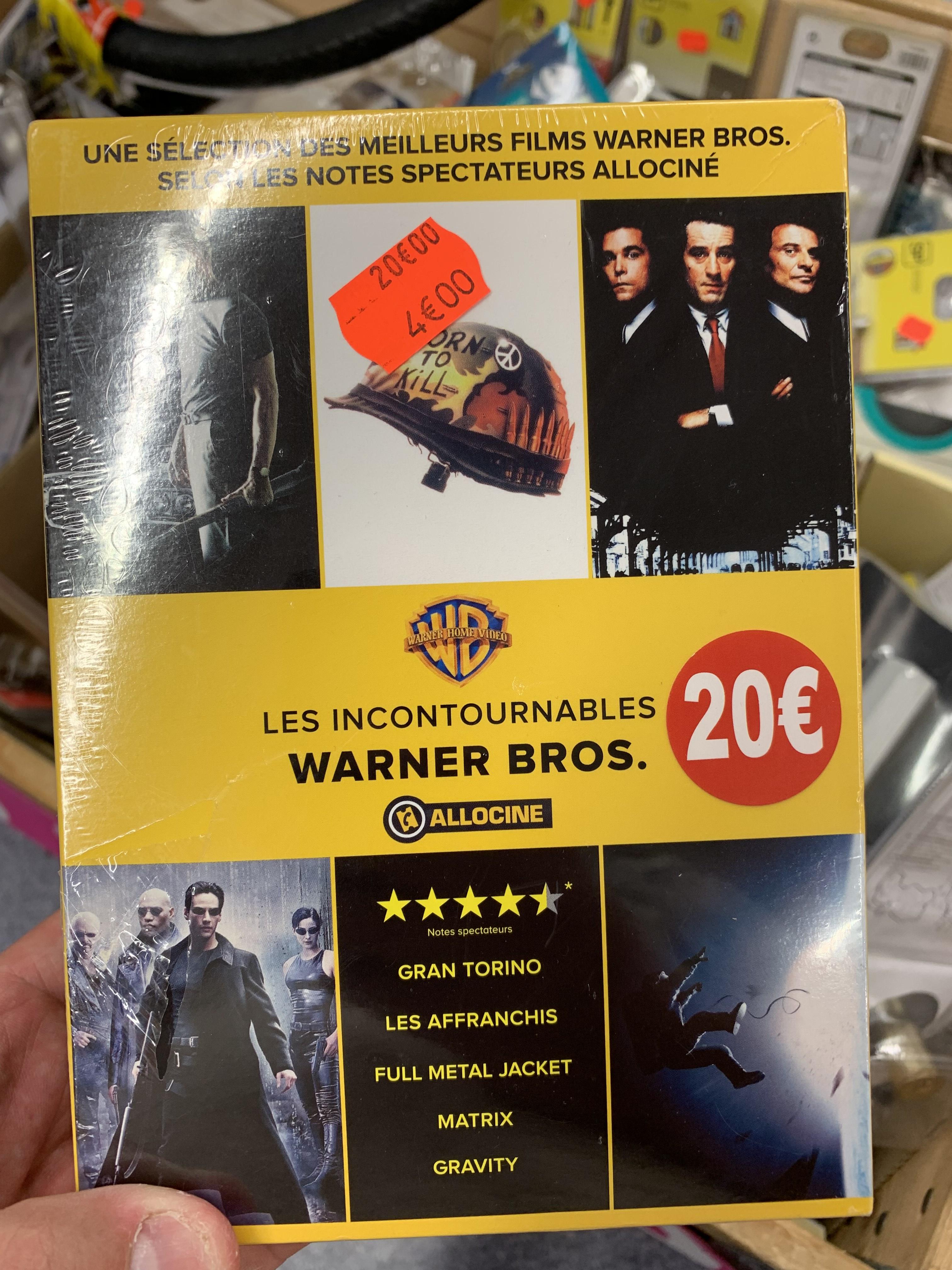 Sélection de Coffrets DVD en promotion (Ex: Les Incontournables De Warner Bros) - Noisy Le Grand (93)