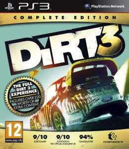 DiRT 3: Complete Edition PS3