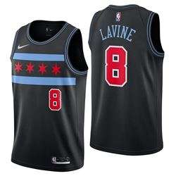 Jersey Chicago Bulls Nike City Edition Swingman Zach Lavine - Youth