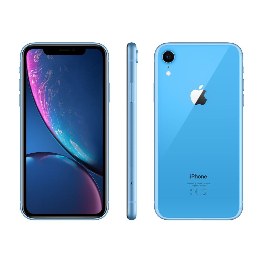 "Smartphone 6.1"" Iphone Xr Dual SIM Bleu - 64 Go + 123€ en Super Points"