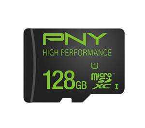 Carte microSDXC PNY High Performance - 128 Go
